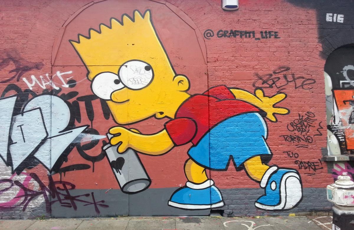 bart-simpson-london-street-art