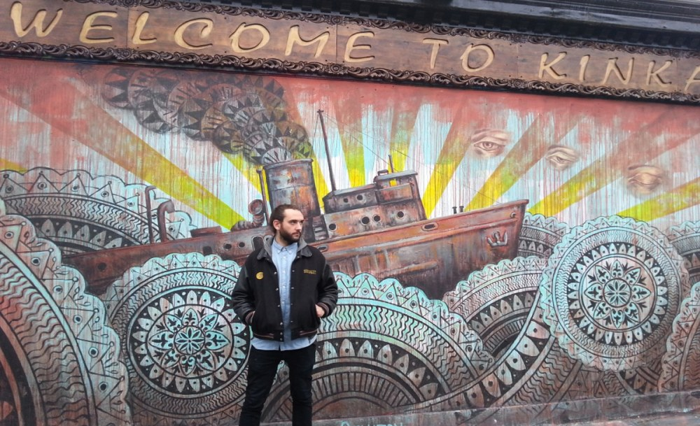 Street Art painted by brush