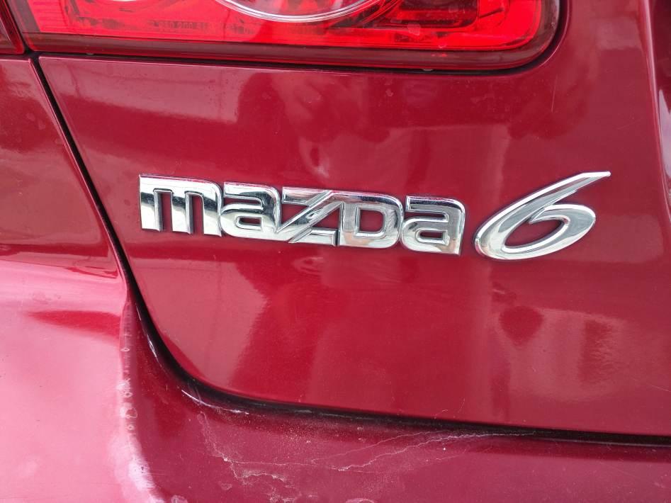 Mazda 6 Trunk Descripton
