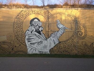 Detroit Street Art at The Dequindre Cut