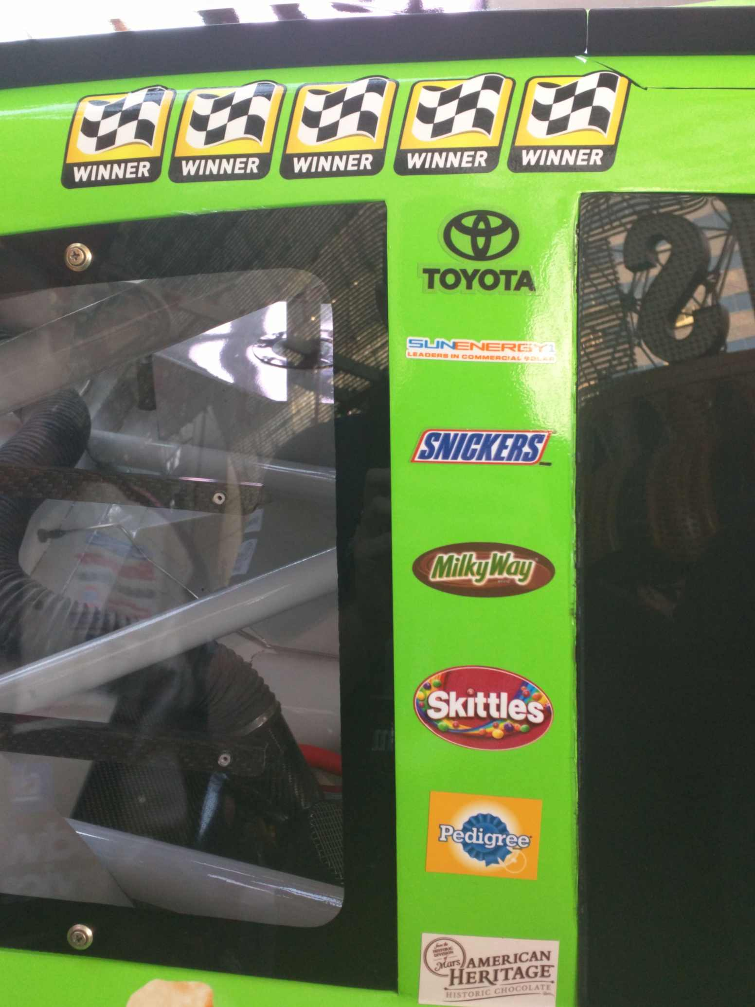 Kyle Busch 2015 Winners Stickers