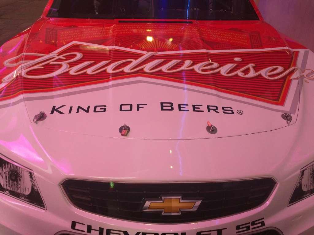 Kevin Harvick Sprint Cup Series Car - Hood Sponsor