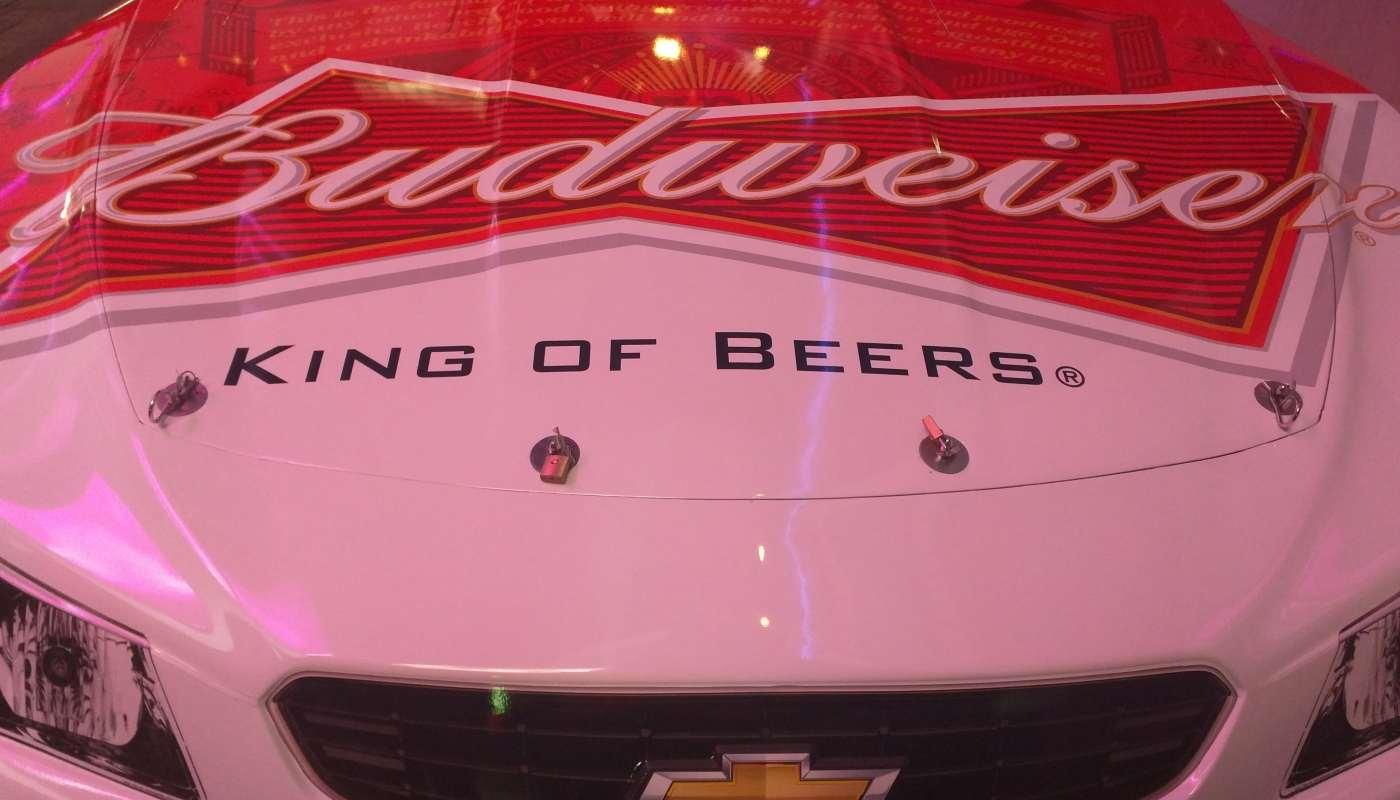 Kevin Harvick Sprint Cup Series Car – Hood Sponsor