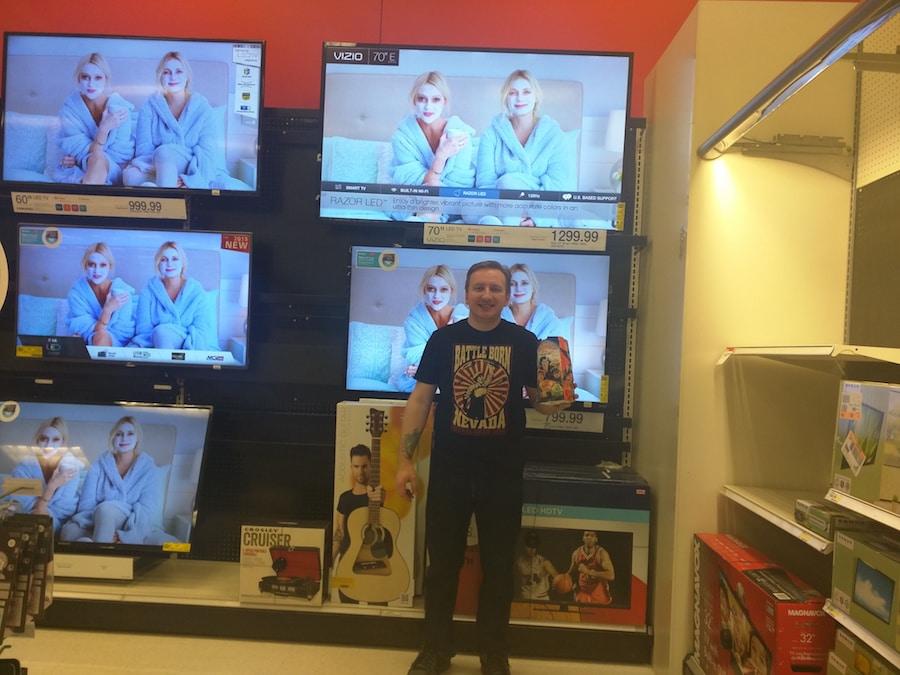 65 inch Vizio tv at target