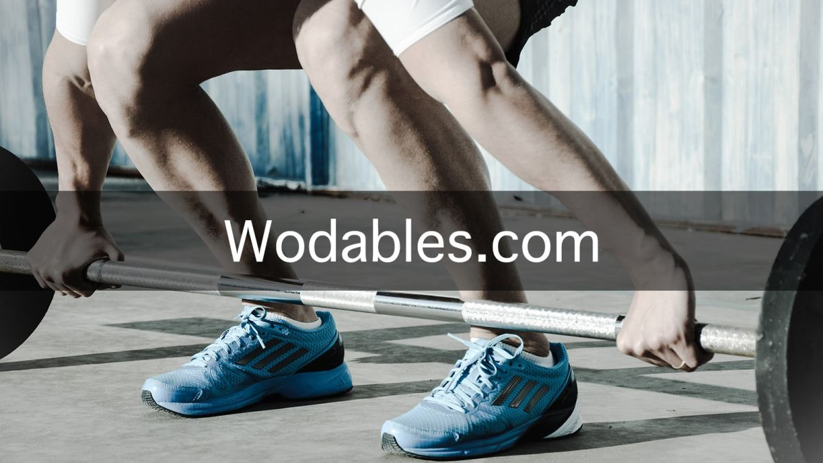 Wodables is a Cross Fit Website that will kick your butt daily