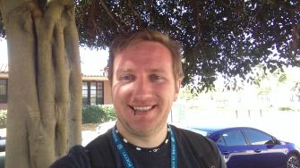 russell aaron at wordcamp san diego