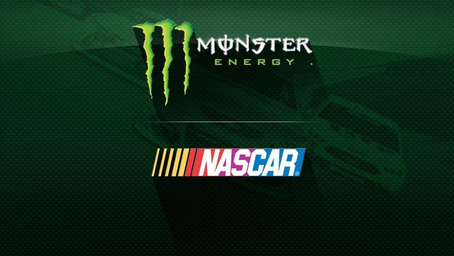 Monster Energy is the new Nascar sponsor