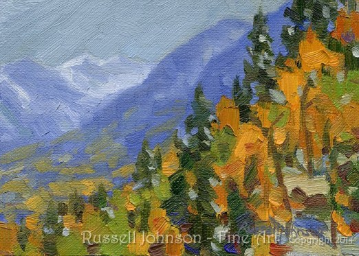 Colorado Oil Painting by Russell Johnson