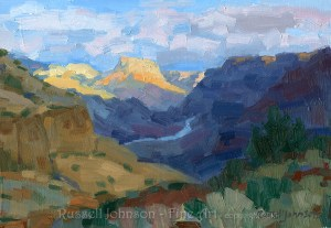 From Tanner Trail - Grand Canyon Paintings from Russell Johnson