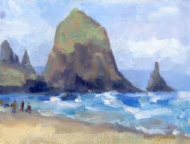 Russell Johnson Landscape Oil Painter