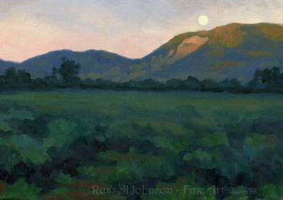 Landscape Oil Painting by Russell Johnson