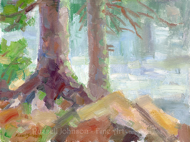Arizona oil paintings by Russell Johnson