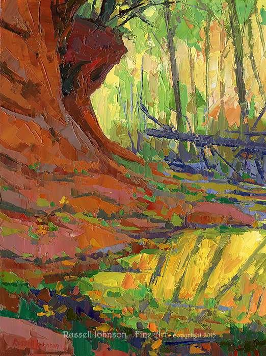 Russell Johnson southwest oil painter