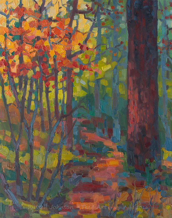 Russell Johpnson landscape artist