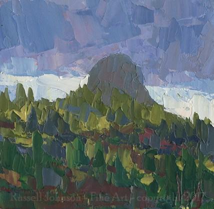 Russell Johnson prescott, az artist