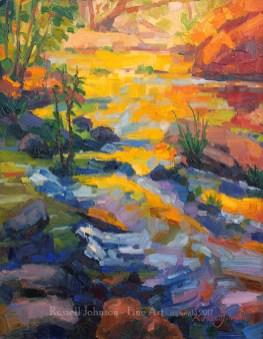 Russell Johnson Arizona oil painter