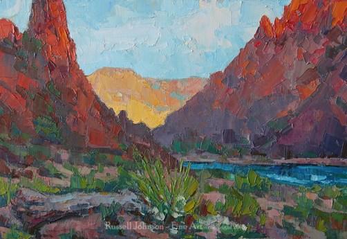 Russell Johnson Grand Canyon artist