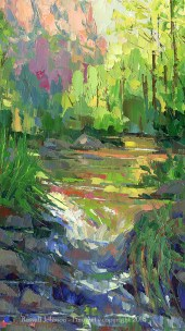 Russell Johnon Oak Creek oil painter