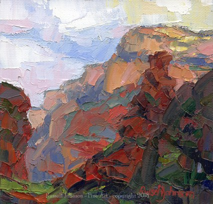 Russell Johnson Grand Canyon oil painter