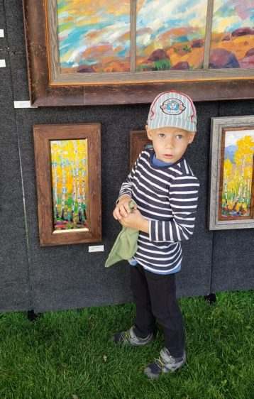 Russell Johnson Prescott AZ painter