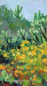 Russell Johnson Arizona landscape artist