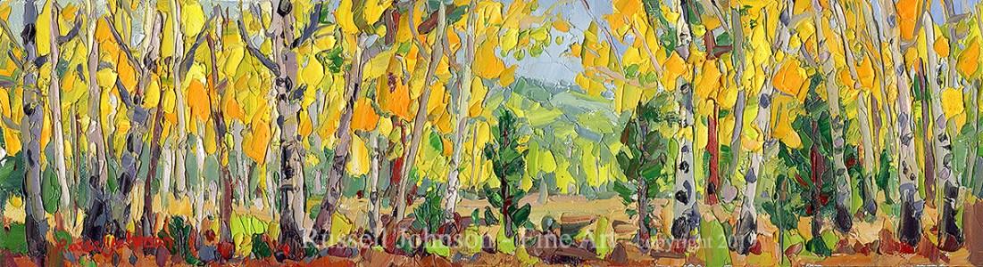 Russell Johnson modern impressionist painter