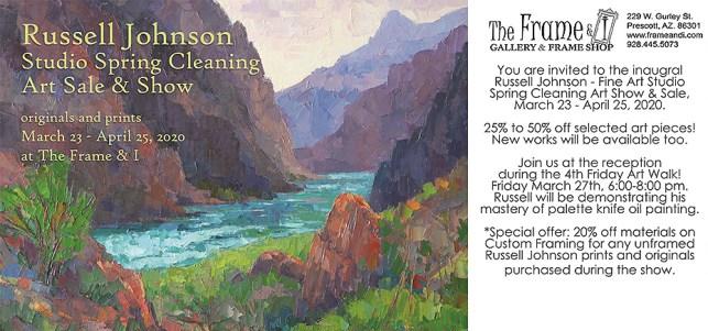 Russell Jonson Prescott, AZ landscape artist