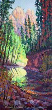 Russell Johnson southwest oil painter