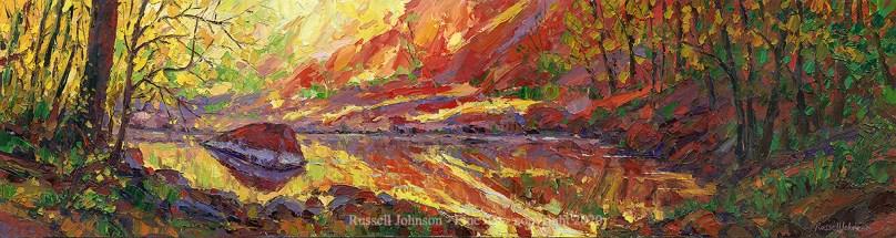 Russell Johnson western artist