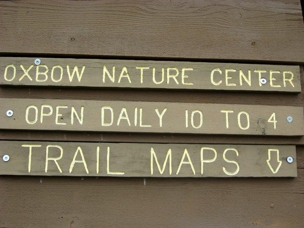 Oxbow Park Nature Center hours