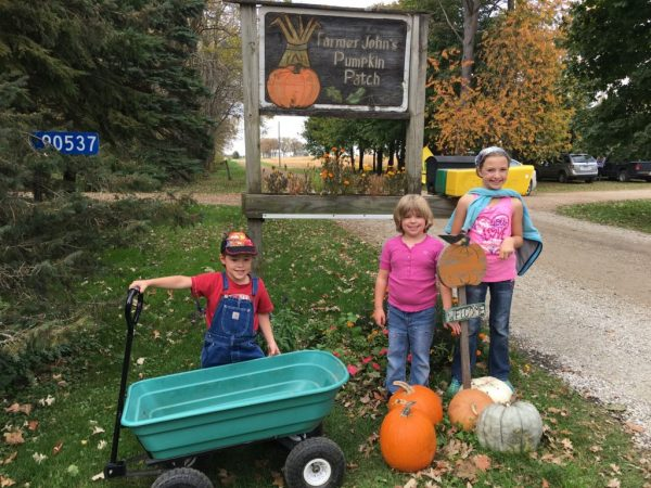 We enjoyed a family day finding the perfect pumpkins at Farmer John's Pumpkin Patch.
