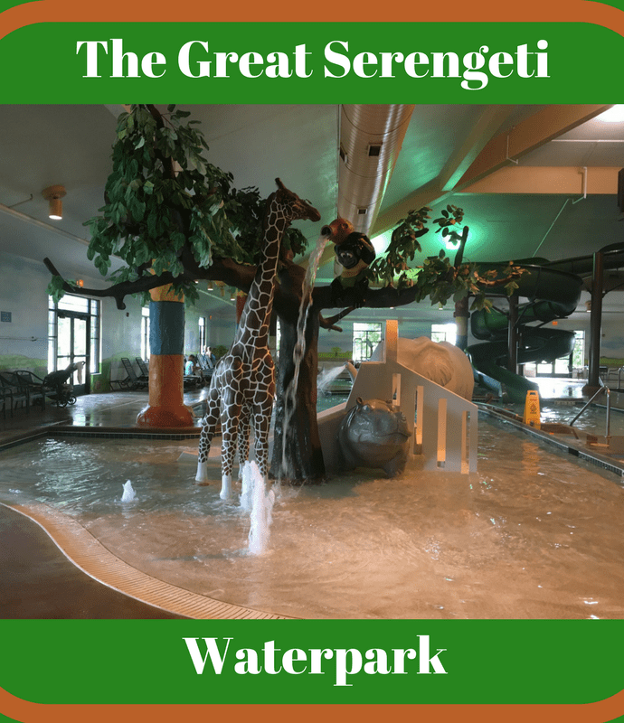 The Great Serengeti Indoor Waterpark, Holiday Inn Hotel & Suites