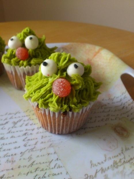 Monster Cupcakes- so sweet