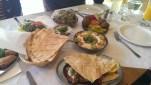 Chez Marcelle, London. Great Meze