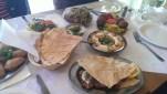Chez Marcelle, London. Delicious Meze