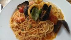 Spaghetti allo Scoglio (Osteria del Portico Ealing)