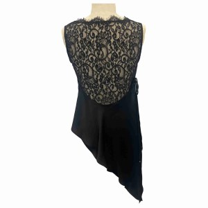 Bias Draped Top with Back Wrap Back View