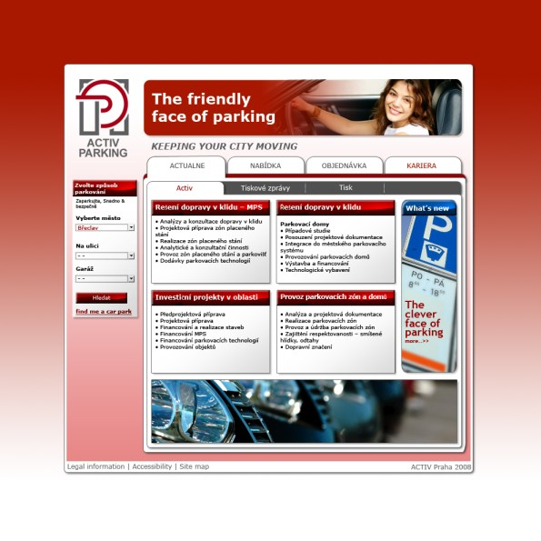 Activ parking – Home page