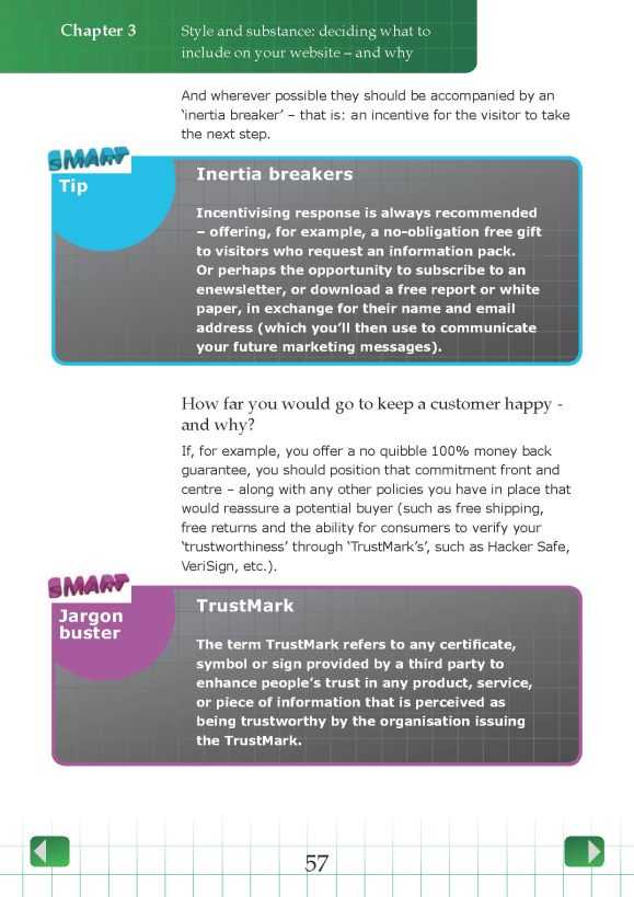 SMARTWP Smart Guide to Website Planning - Typical Page