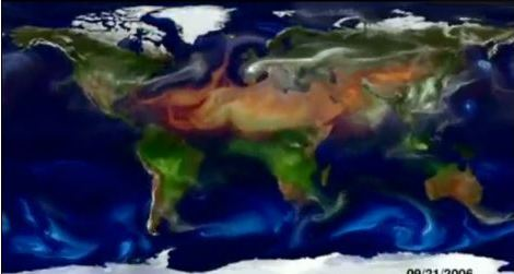 Watch NASA Movie Of Global Dust Feeding Ocean Pastures
