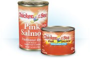 pink salmon cans