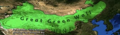 Green Walls Push Back Deserts And Dustbowls