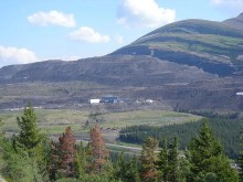 Babcock mine near Tumbler Ridge BC