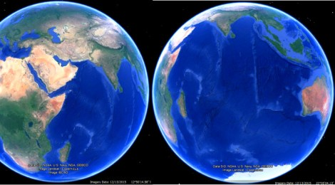 Earth_BluePlanet_4Views