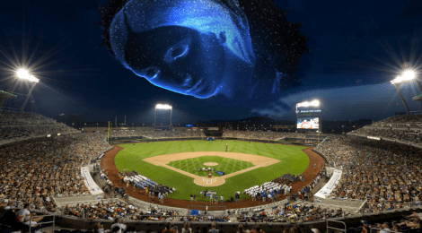 World Series with mother nature