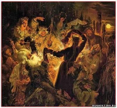 праздники Древней Руси и обычии