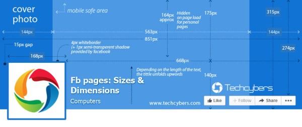 Размер шапки facebook: Точный размер фото и картинок для ...