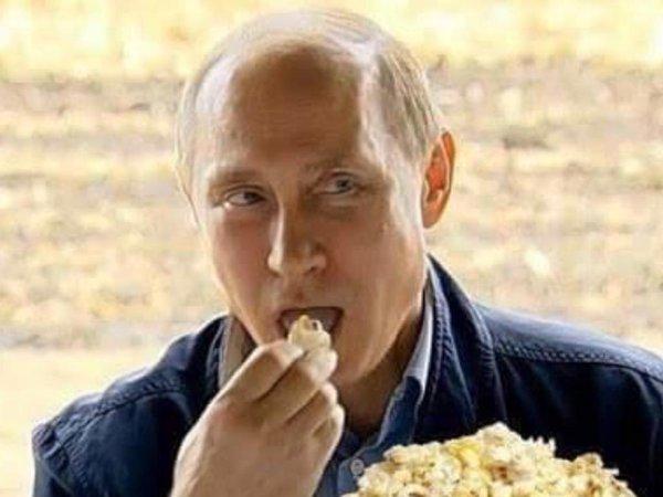 """Résultat de recherche d'images pour """"vlad poutine pop corn"""""""
