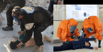 White Helmets are Hogwarts-trained wizards