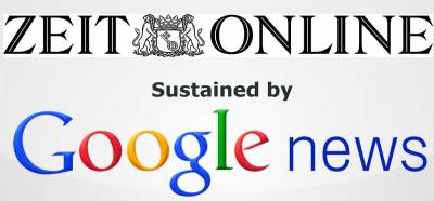Zeit Online - Google News mashup - Google making controversial moves in the influence space